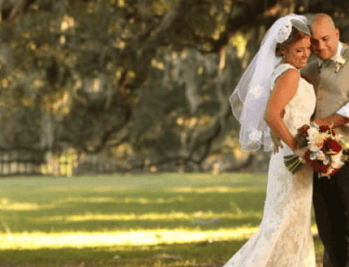 A Rustic Chic Wedding in Charleston, SC