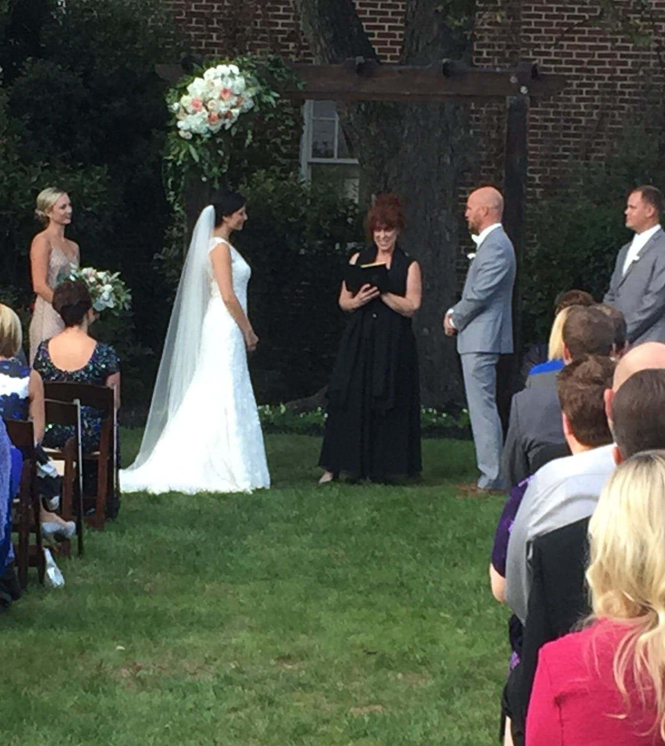 Allaina & Chad's Outdoor Wedding