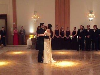 Amanda & Michael's First Dance
