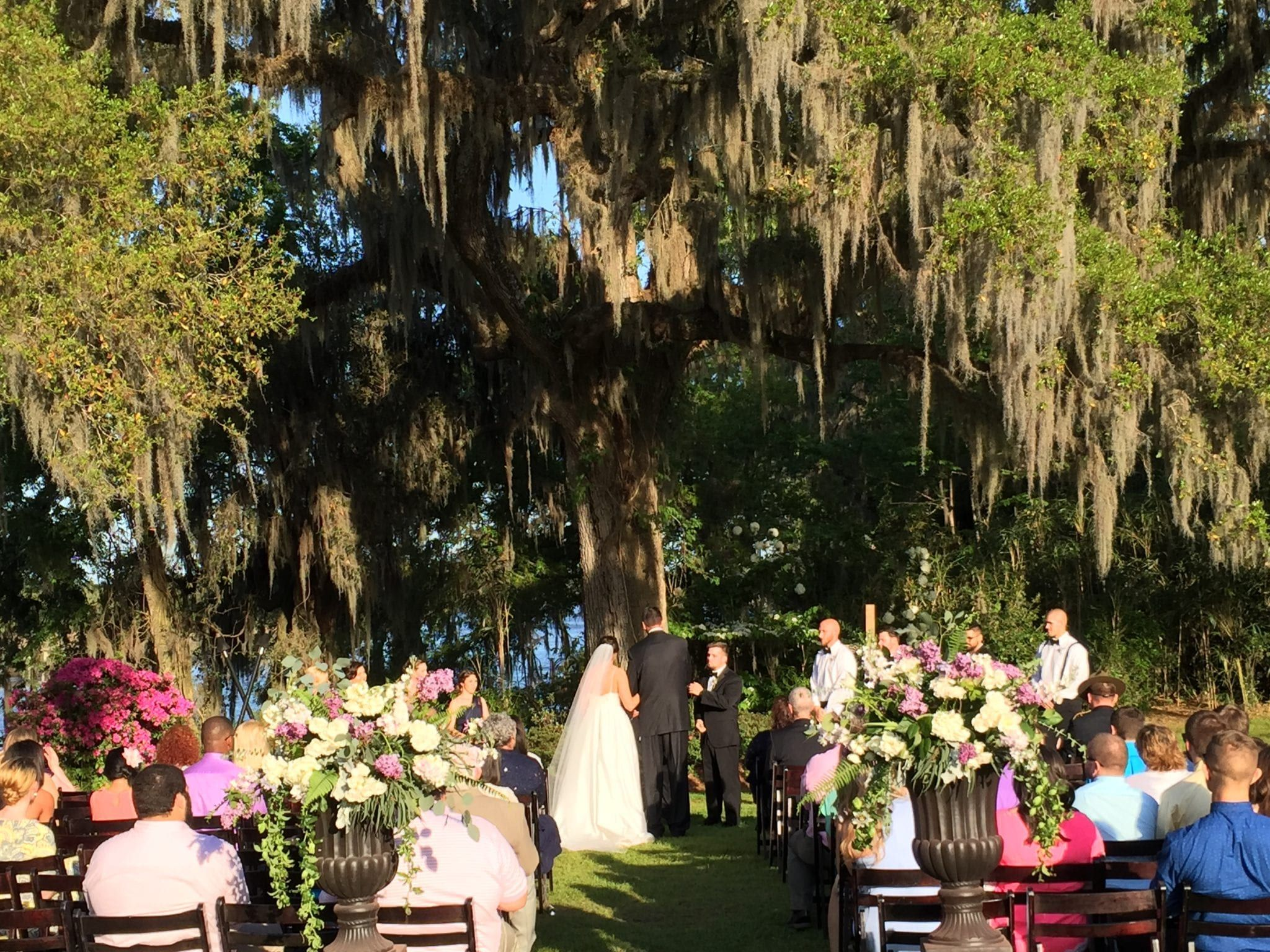 magnolia plantation wedding, bunn dj company