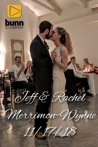 Merrimon Wynne wedding dj Bunn dj company