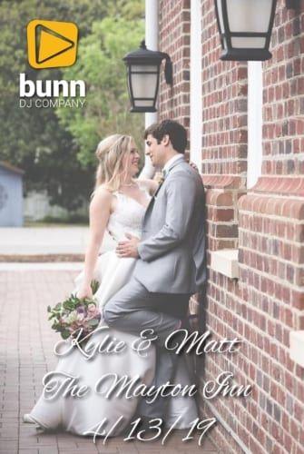 Mayton Inn Cary wedding DJ Bunn DJ company