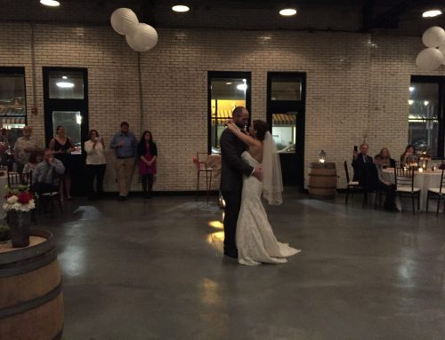 Brittany & Robby's NC State Themed Wedding at 214 Martin