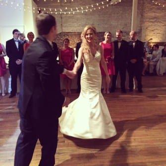 Rachel and Albert's wedding