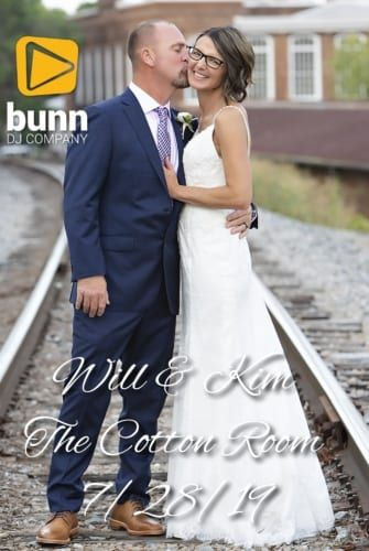 cotton room wedding dj Bunn dj company