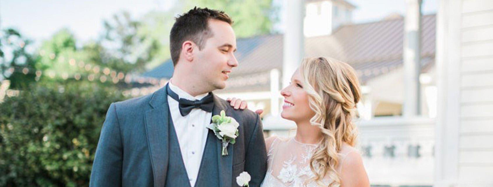 Meri Scott and David's wedding